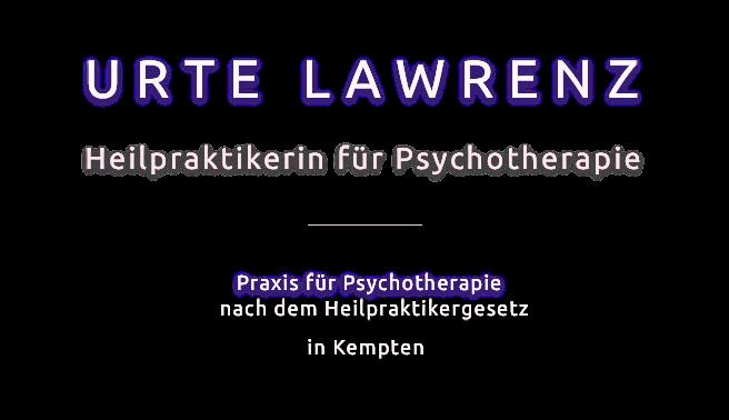 Psychotherapeutische Praxis Lawrenz in Kempten/Allgäu