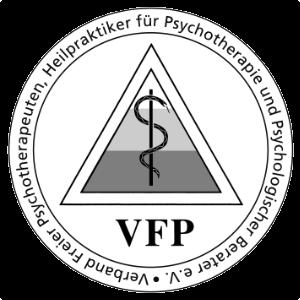 Mitglied imVFP Verband Freier Psychotherapeuten, Heilpraktiker für Psychotherapie und Psychologischer Berater e.V.